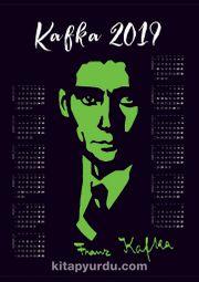 2019 Takvimli Poster - Yazarlar - Kafka