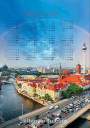 2019 Takvimli Poster - Şehirler - Berlin
