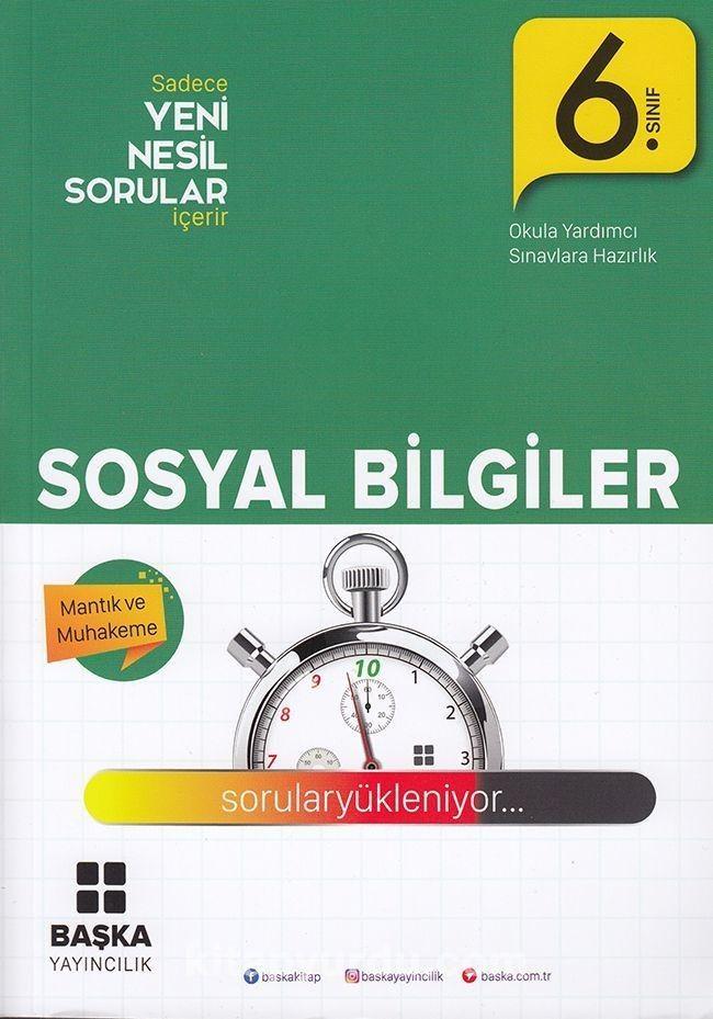 6. Sınıf Sosyal Bilgiler Yeni Nesil Sorular - Kollektif pdf epub