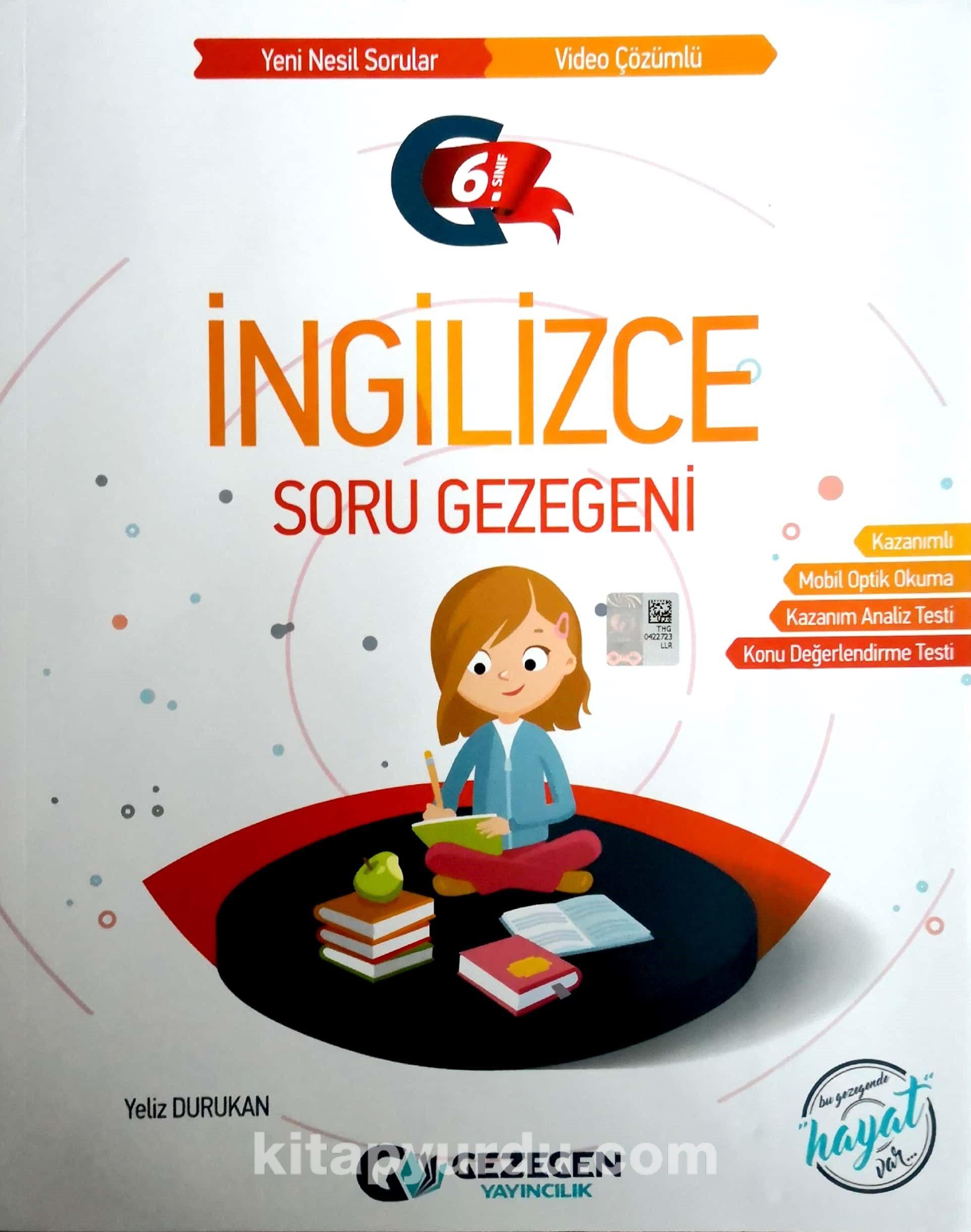 6. Sınıf İngilizce Soru Gezegeni - Yeliz Durukan pdf epub