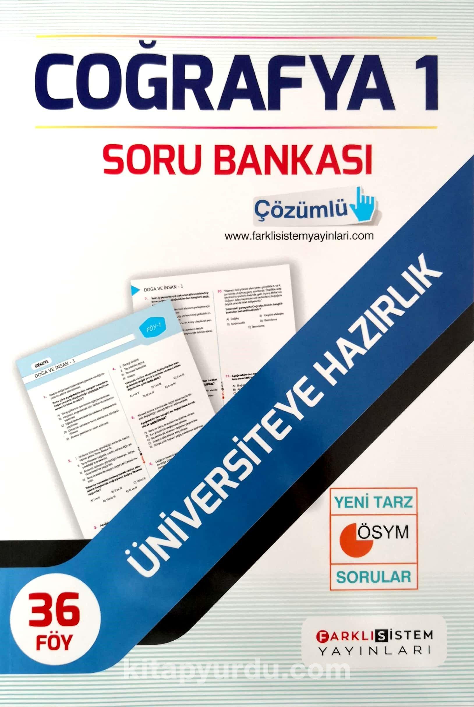 TYT Coğrafya 1 Soru Bankası 36 Föy