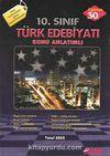 10. Sınıf Türk Edebiyatı Konu Anlatımlı
