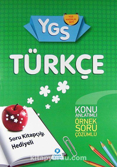 YGS Hazırlık Seti Türkçe Konu Anlatımlı Örnek Soru Çözümlü - Komisyon pdf epub