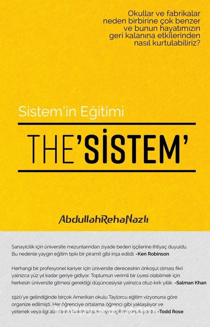 The Sistem - Abdullah Reha Nazlı pdf epub