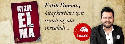 Kızıl Elma 2 / Ayasofya. Fatih Duman, Kitapkurtları için Sınırlı Sayıda İmzaladı.