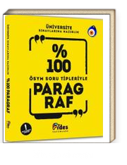 Üniversite Sınavlarına Hazırlık %100 ÖSYM Soru Tipleriyle Paragraf