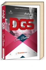 2019 Stratejik Çözümlü DGS Soru Bankası