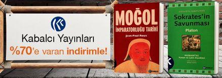 Kabalcı Yayınları %70'e  Varan İndirimle!