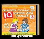 Okulöncesi Çocuklar İçin IQ Geliştirici Zeka Oyunları (4-6 Yaş) 3