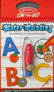 Water Painting Eğitici Sihirli Boyama Kitabı Alfabe Özel Kalemli (140)
