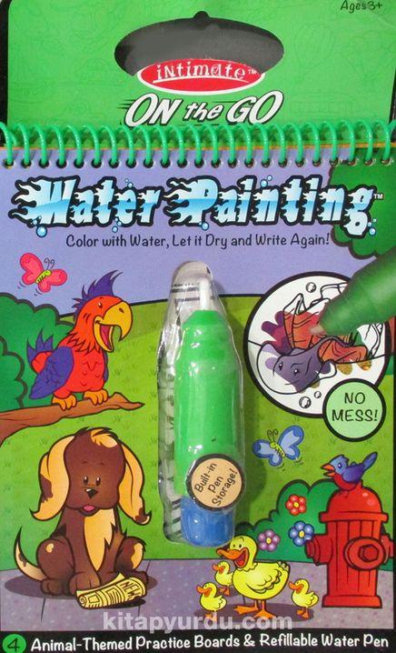 Water Painting Eğitici Sihirli Boyama Kitabı Hayvanlar Özel Kalemli (143)