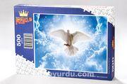 Barış Güvercini Ahşap Puzzle 500 Parça HV20-D)
