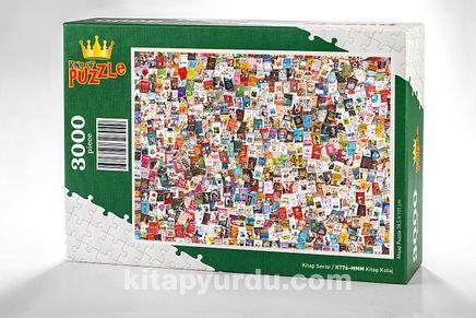 Kitap Kolaj Ahşap Puzzle 3000 Parça (KT76-MMM)