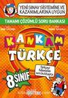 8. Sınıf Çözümlü Soru Bankası Kankam Türkçe