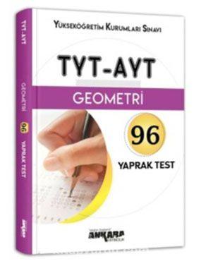 TYT-AYT Geometri 96 Yaprak Test - Kollektif pdf epub