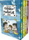 Kafadan Kontaklar Serisi Kutulu Set (4 Kitap) (Ciltli)