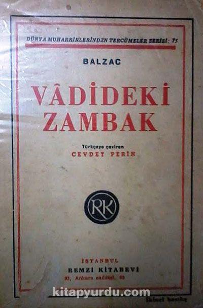 Vadideki Zambak (3-B-10) - Honore de Balzac pdf epub