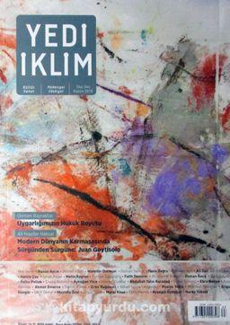 7edi İklim Sayı:344 Kasım 2018 Kültür Sanat Medeniyet Edebiyat Dergisi