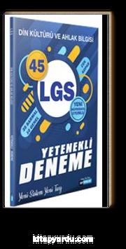8. Sınıf LGS Din Kültürü ve Ahlak Bilgisi Yetenekli 45 Deneme