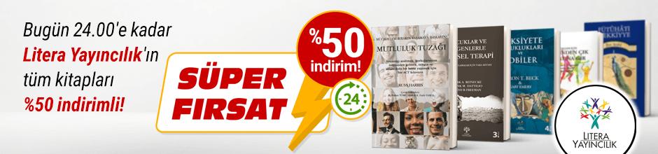 Bugüne Özel Litera Yayıncılık %50 indirimli!