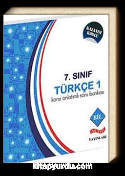 7. Sınıf Türkçe -1 Konu Anlatımlı Soru Bankası
