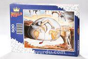 Yeni Bir Adamın Doğuşu / Salvador Dali Ahşap Puzzle 500 Parça (KR12-D)