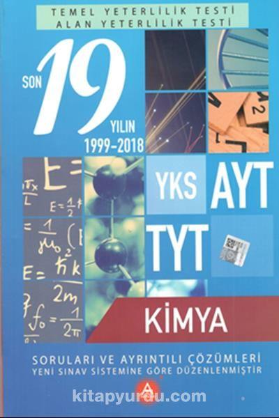 YKS AYT TYT Kimya Son 19 Yılın Çıkmış Soruları ve Ayrıntılı Çözümleri - Kollektif pdf epub
