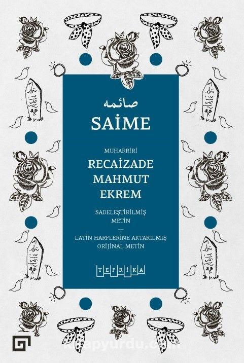 Saime - Recaizade Mahmut Ekrem pdf epub