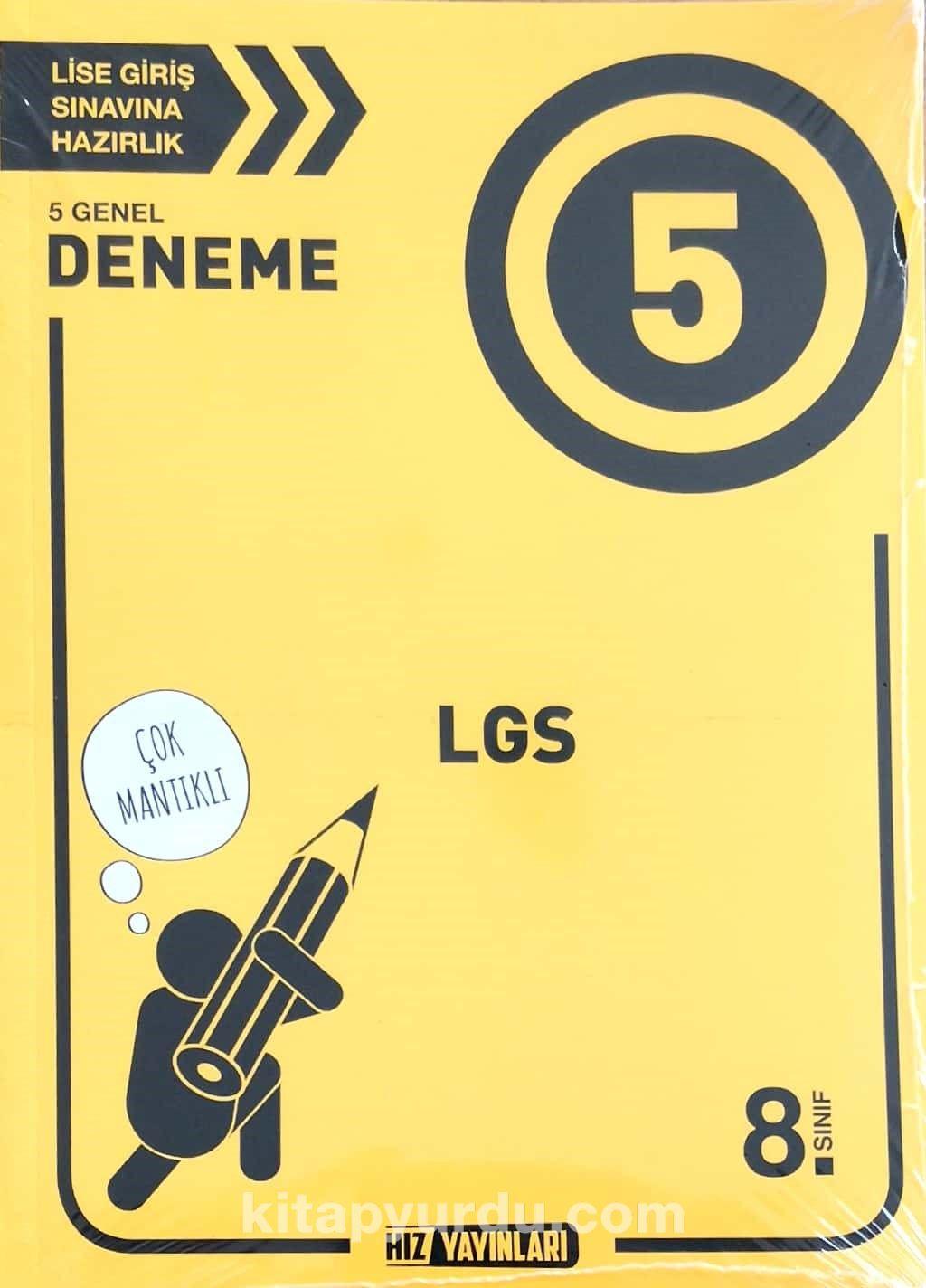 8. Sınıf LGS 5'li Deneme - Kollektif pdf epub
