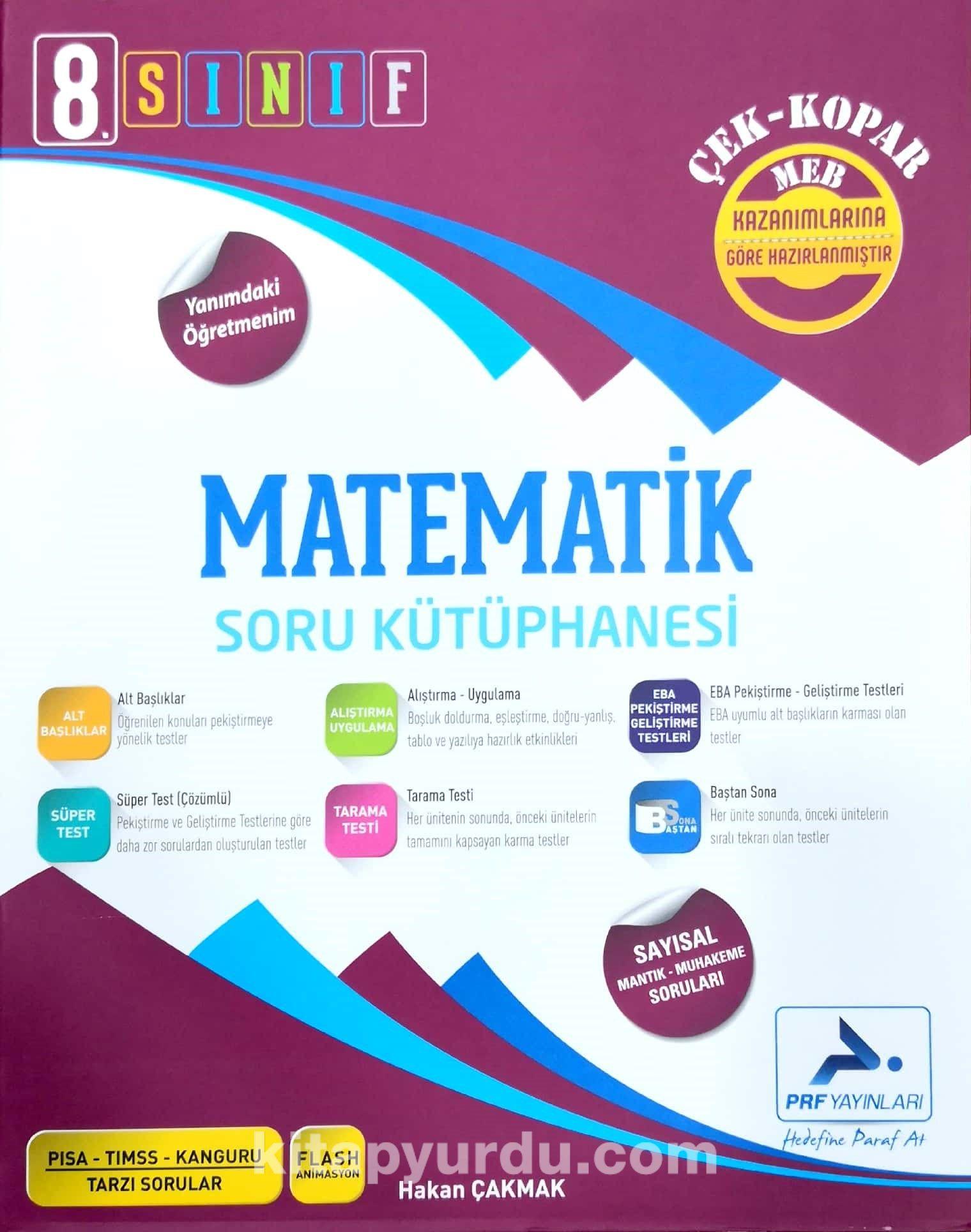 8. Sınıf Matematik Soru Kütüphanesi - Hakan Çakmak pdf epub