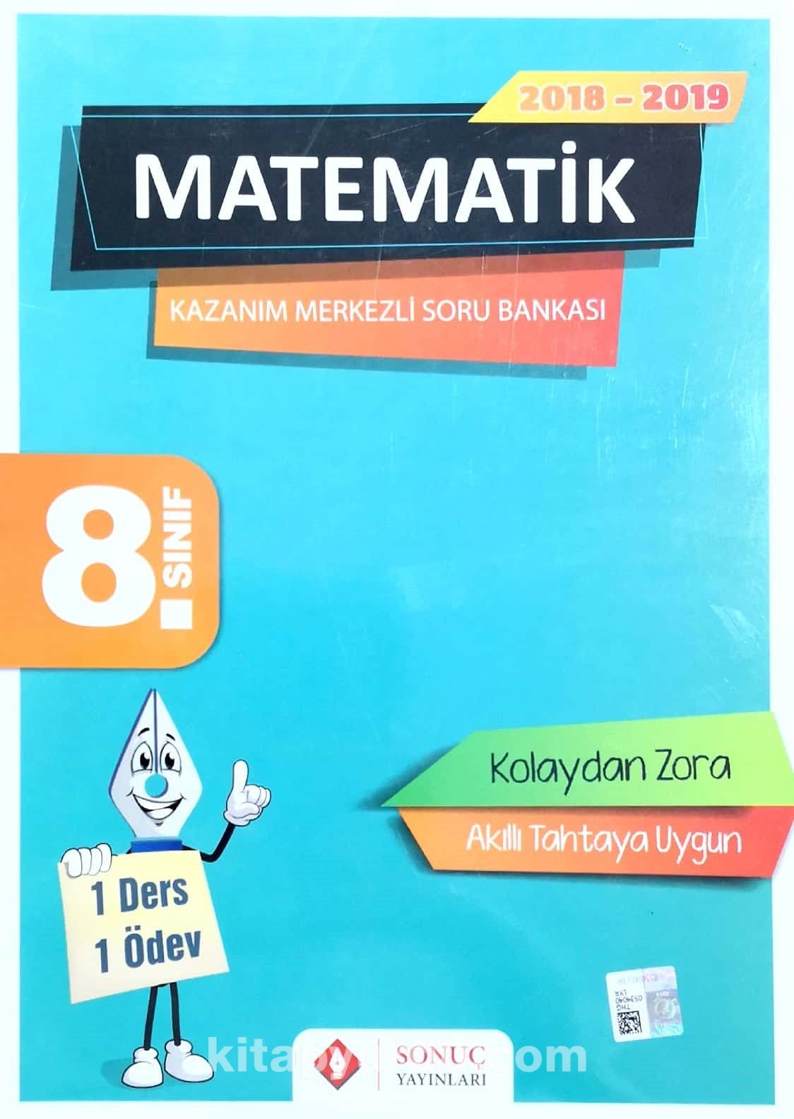8. Sınıf Matematik Kazanım Merkezli Soru Bankası - Kollektif pdf epub