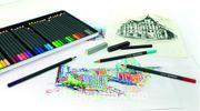 Eberhard-Faber Watercolour Pencil Artist Color 24
