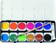 Eberhard-Faber Suluboya-Opak 12 Renk Plastik Kutu