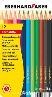 Eberhard-Faber 12'li Çift Taraflı Kuruboya Kalemi 3mm mine