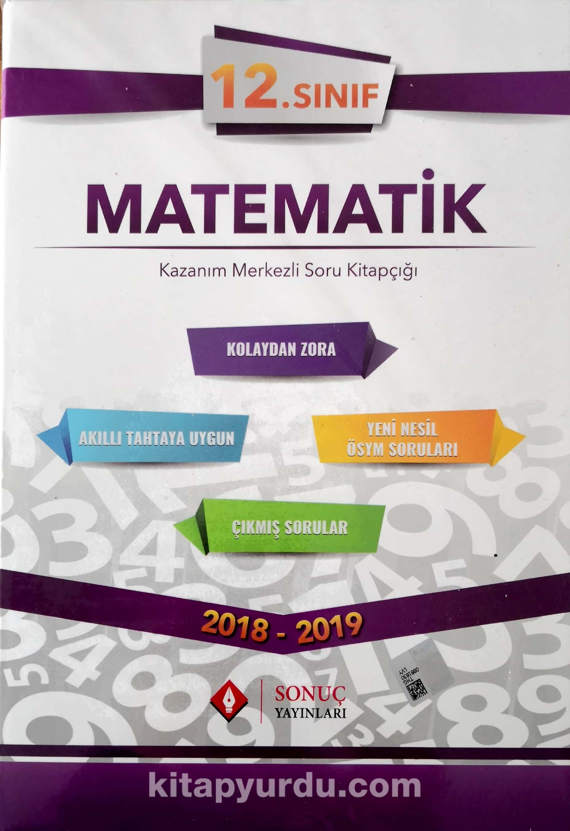 12. Sınıf Matematik Kazanım Merkezli Soru Kitapçığı - Kollektif pdf epub