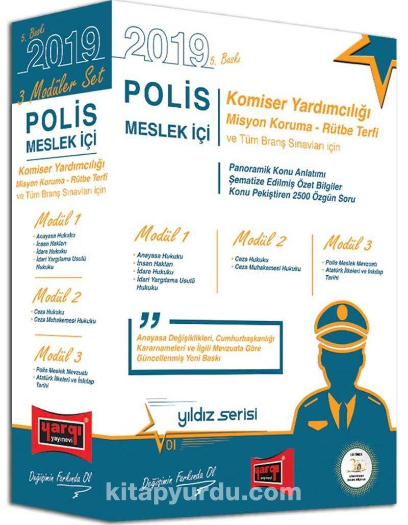 2019 Polis Meslek İçi Sınavlarına Hazırlık Konu Anlatımlı Modüler Set - Kollektif pdf epub