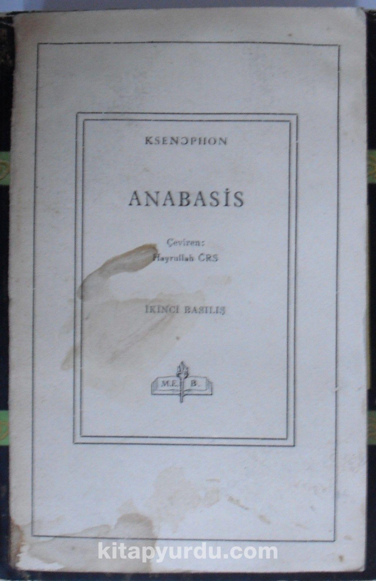 Anabasis - Ksenophon pdf epub