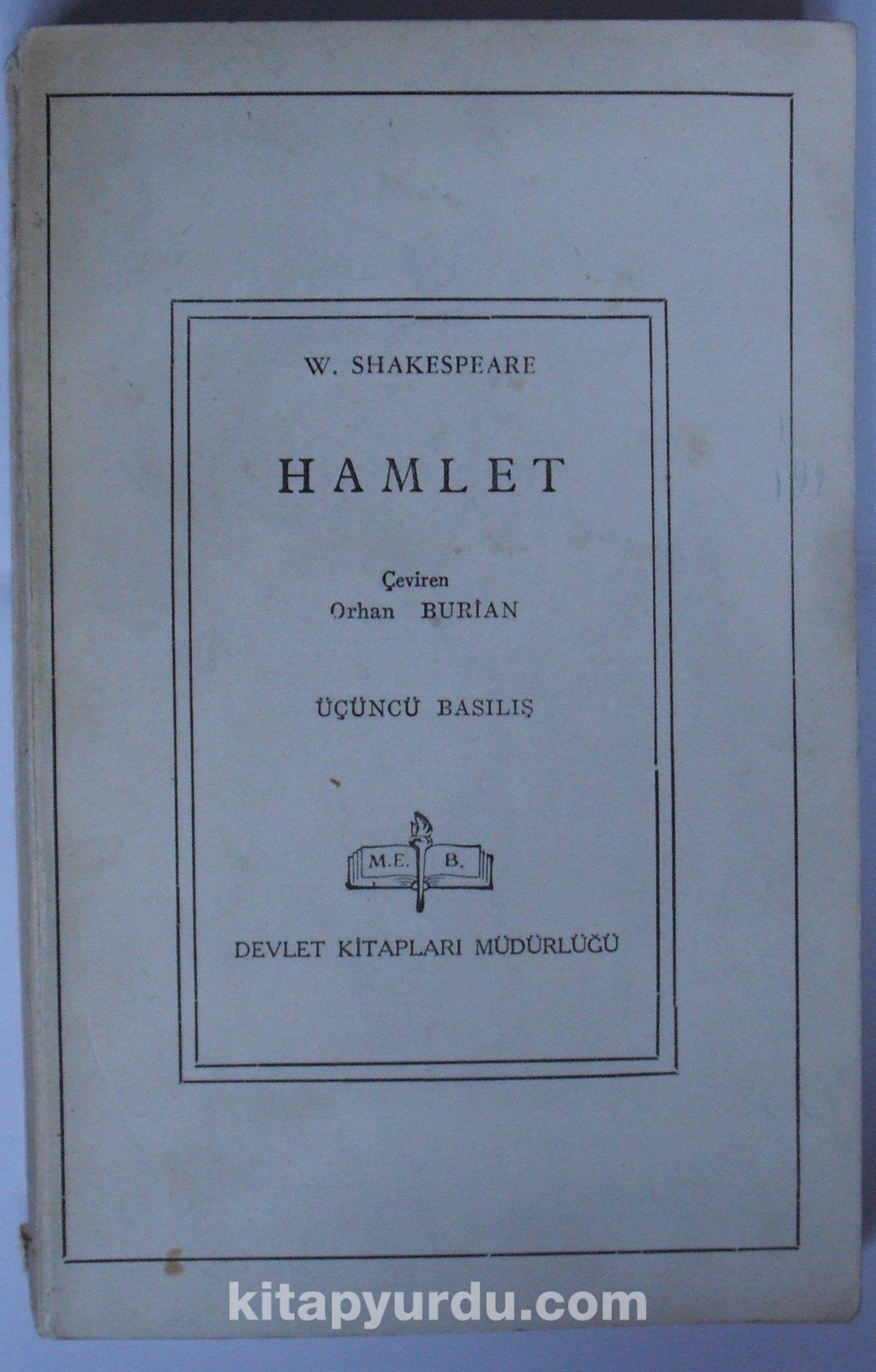 Hamlet (6-G-33) - William Shakespeare pdf epub