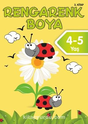 Rengarenk Boya 4-5 Yaş (3. Kitap) -  pdf epub