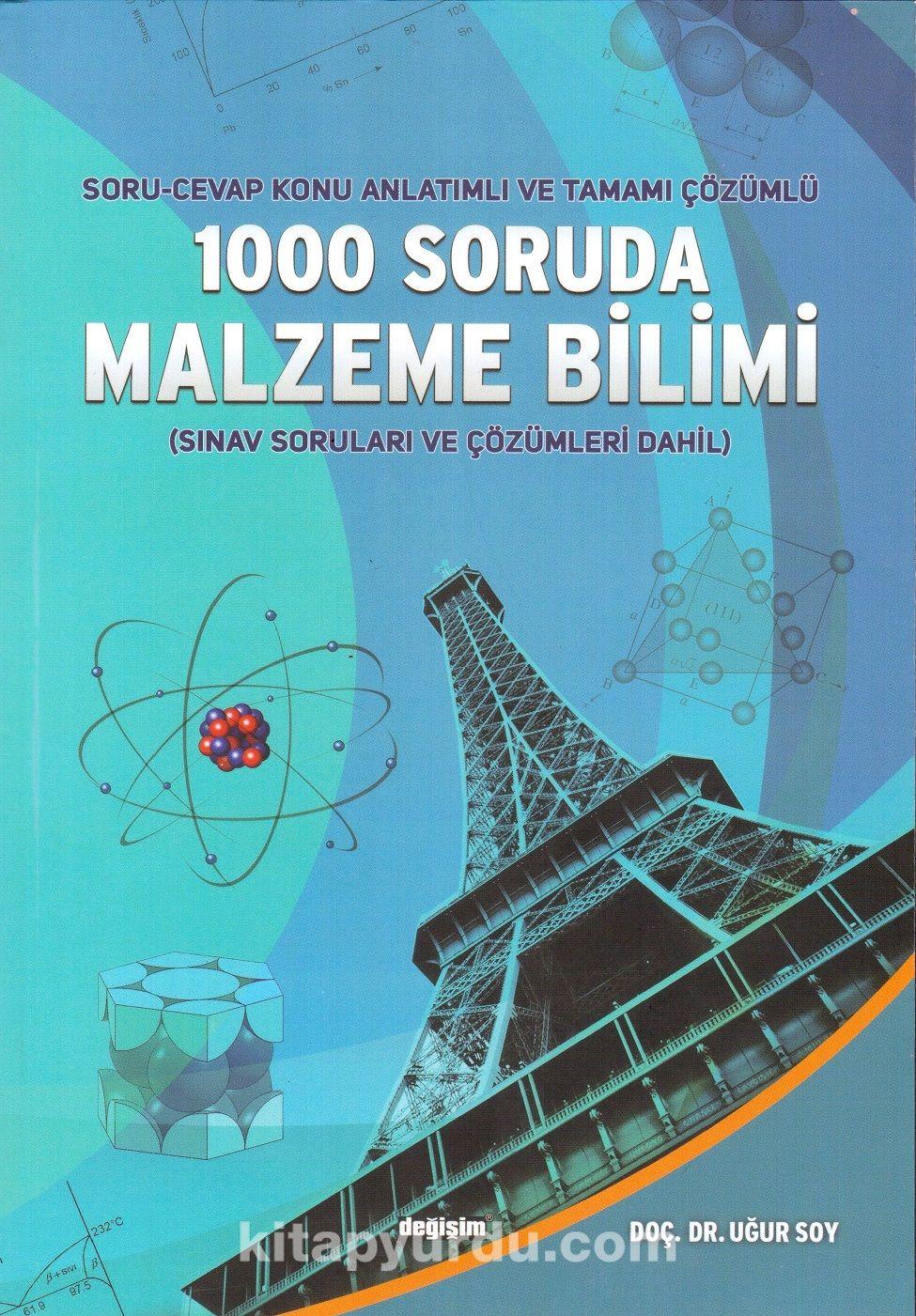 1000 Soruda Malzeme BilimiSoru-Cevap Konu Anlatımlı ve Tamamı Çözümlü