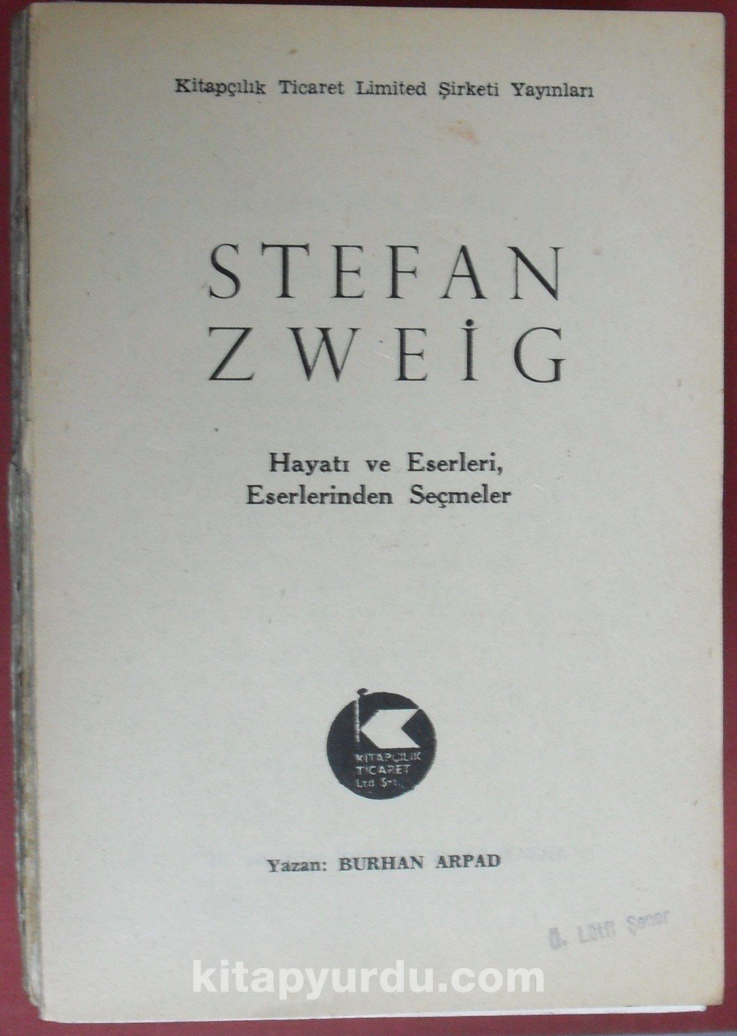 Stefan Zweig 6-F-41 - Burhan Arpad pdf epub