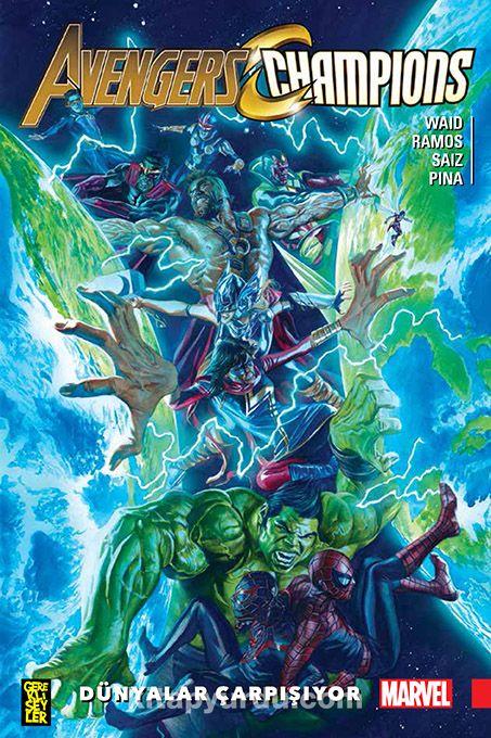 Avengers Champions / Dünyalar Çarpışıyor - Mark Waid pdf epub