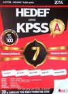 2014 Hedef Serisi KPSS A Tamamı Çözümlü 7 Deneme Sınavı
