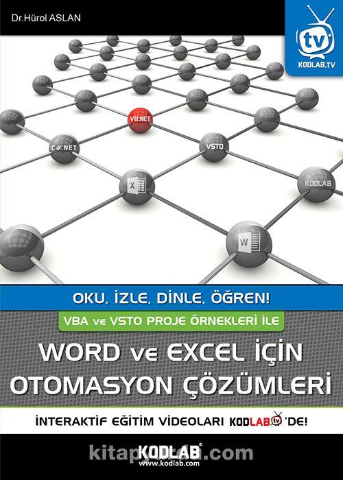 Word ve Excel İçin Otomasyon Çözümleri - Hürol Aslan pdf epub