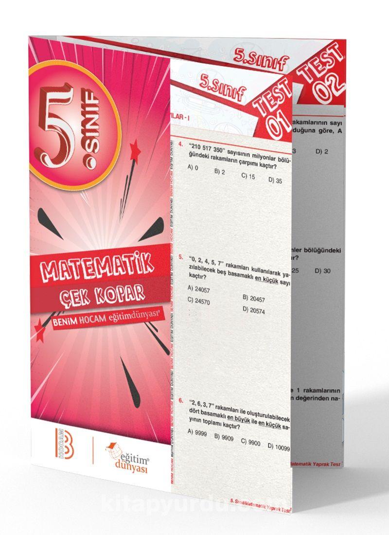 5. Sınıf Matematik Çek Kopar Yaprak Test - Kollektif pdf epub