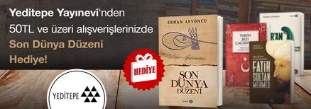 """Yeditepe Yayınevi'nden 50TL ve Üzeri Alışverişlerinizde """"Son Dünya Düzeni"""" Kitabı Hediye!"""