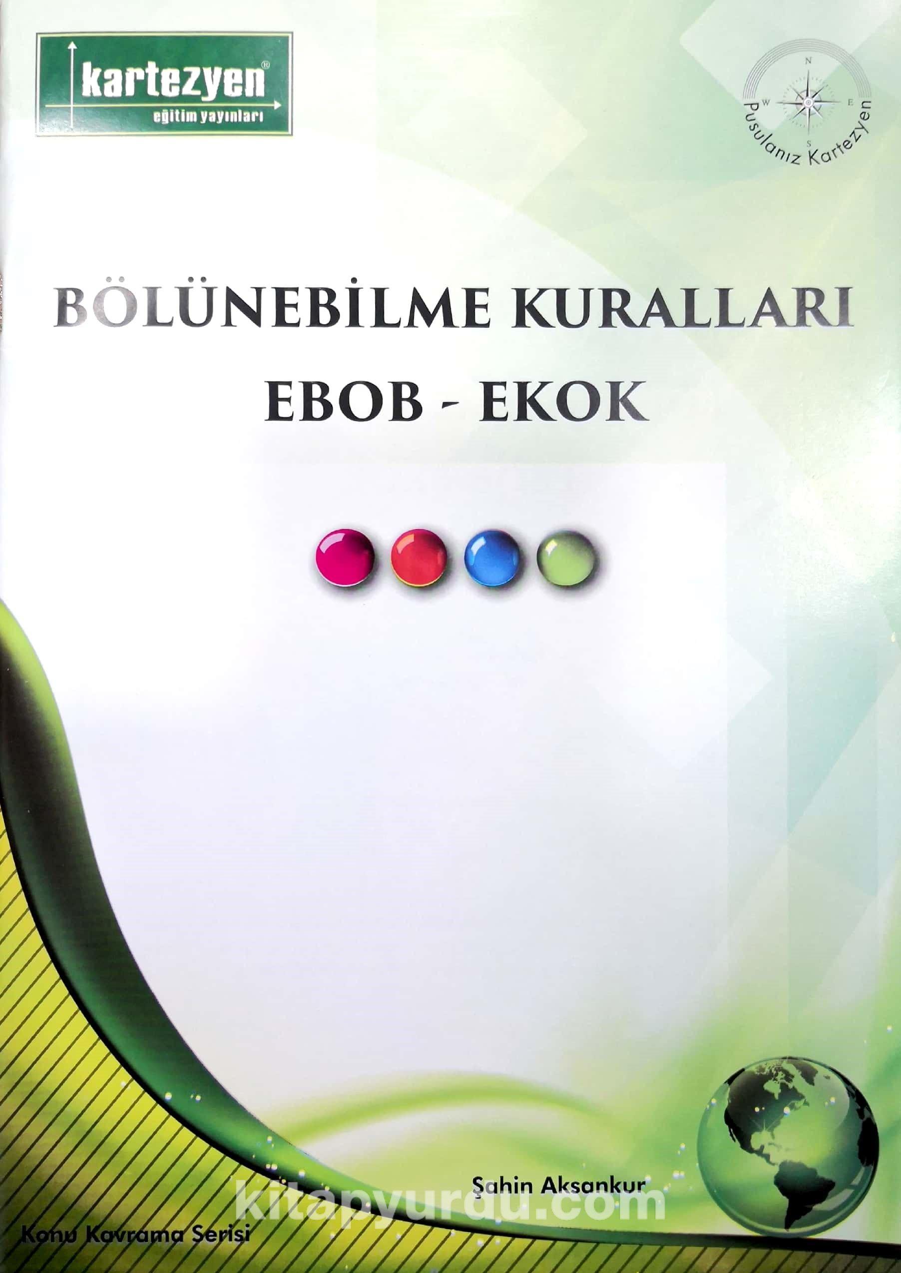 Bölünebilme Kuralları, Ebob-Ekok - Şahin Aksankur pdf epub