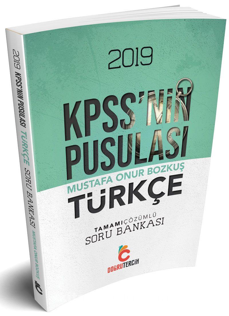 2019 KPSS'NİN Pusulası Türkçe Soru Bankası - Komisyon pdf epub