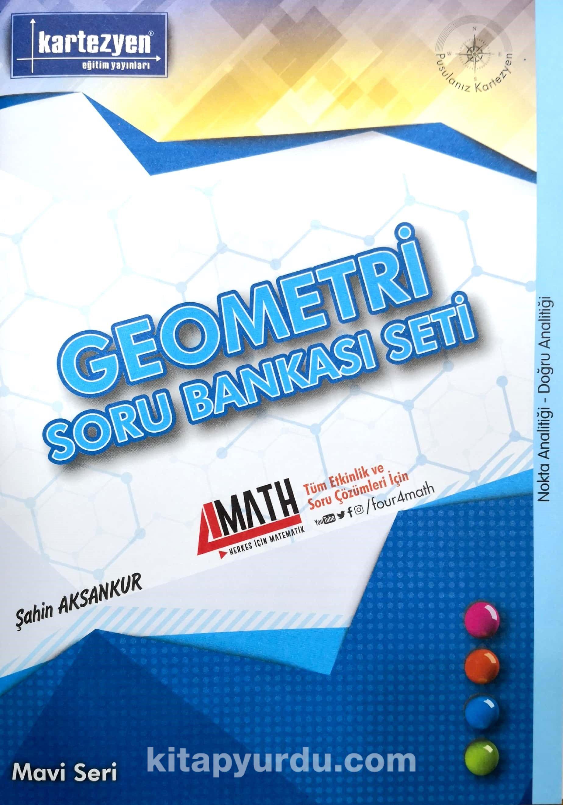 Nokta Analitiği, Doğru Analitiği / Geometri Soru Bankası Seti - Şahin Aksankur pdf epub