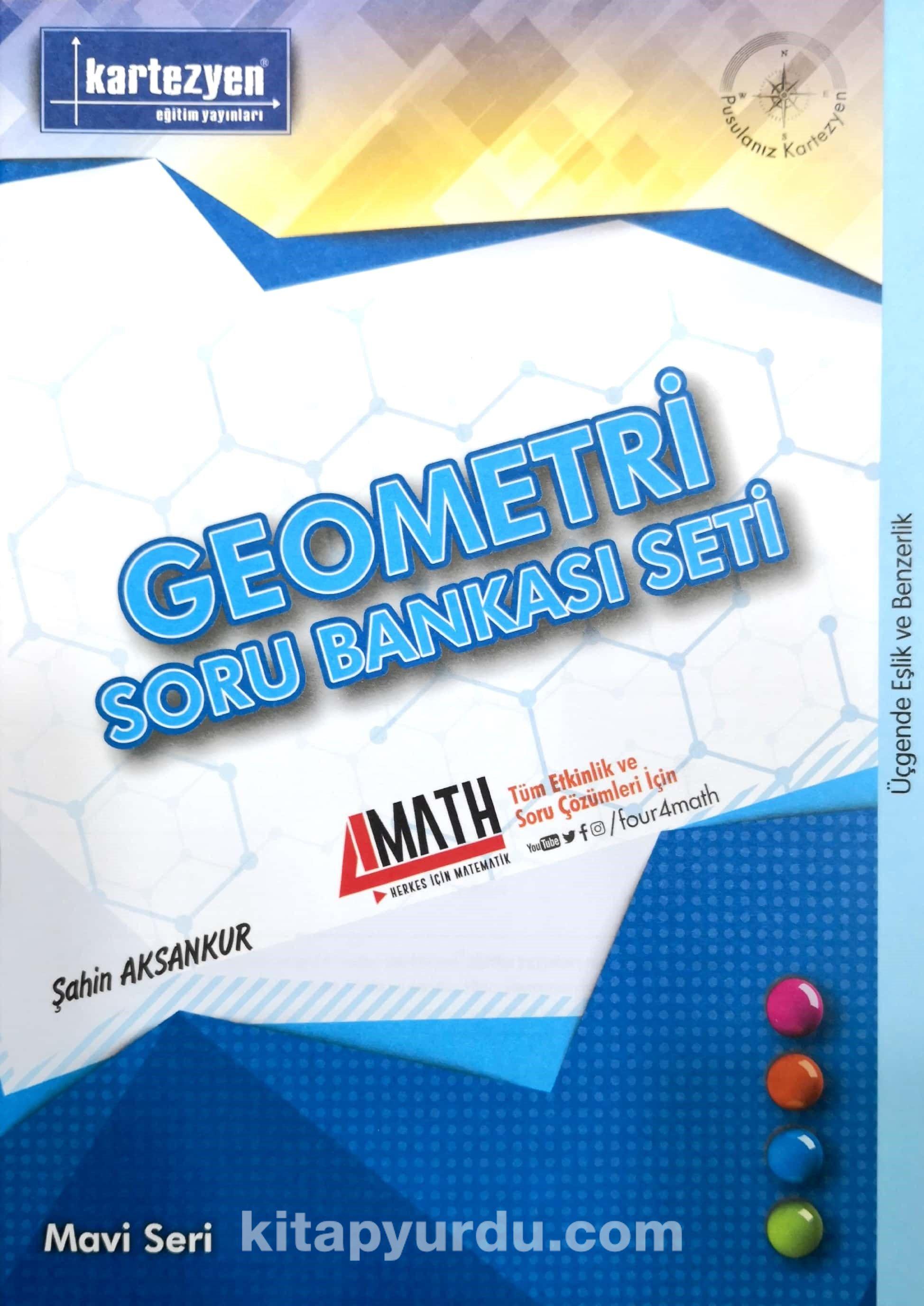 Üçgende Eşlik ve Benzerlik / Geometri Soru Bankası Seti - Şahin Aksankur pdf epub